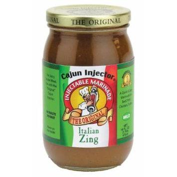 Cajun Injector 16 Ounce Italian Zing Marinade