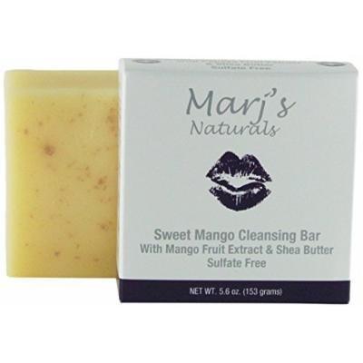 Marj's Naturals Sweet Cleansing Bar, Mango