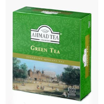 Ahmad Tea Tagged Green Teabags, 100 Count (Pack of 12)