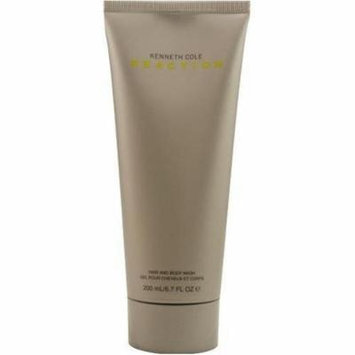 Kenneth Cole Reaction By Kenneth Cole For Men. Hair & Body Wash 6.7 oz