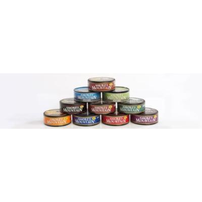 Smokey Mountain Snuff 10 Can Box (Peach)
