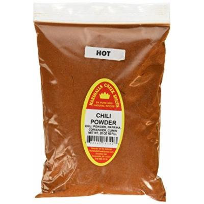 Marshalls Creek Spices X-Large Refill Chili Powder, Hot, 20 Ounce