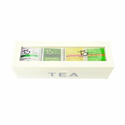 Touch Organic 4-pocket Tea Chest - 60 Bags