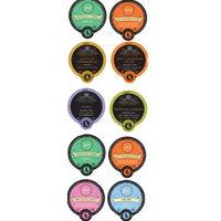 10 cup Harney & Sons® TEA Sampler. 8 NEW unique Tea flavors - Hot Cinnamon, Coconut, Tropical Green +