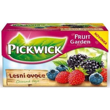 Pickwick Forest Fruits, 20 Tea Bags Per Packages, (Pack of 4)
