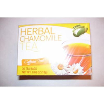 Herbal Chamomile Caffeine Free Tea 30 - .63oz bags each box (Pack of 3 boxes)