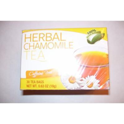 Herbal Chamomile Caffeine Free Tea 30 - .63oz bags each box (Pack of 3 boxes)