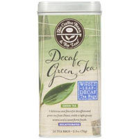 The Coffee Bean and Tea Leaf Decaf Green Tea, Grassy Floral Aroma, CO2 Decaffeination, 20 Count Filter Bag