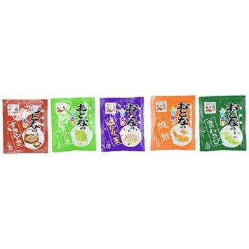 Nagatanien OTONA NO FURIKAKE Mini #1 , Rice Seasoning , 37.6g ( 20 Pcs ) [ Japanese Import ]