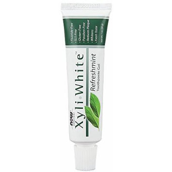 Xyliwhite Toothpaste Mini Now Foods 1 oz Paste