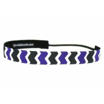 One Up Bands Women's NCAA Northwestern University One Size Fits Most