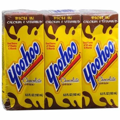YOO HOO CHOCOLATE DRINK 3 PACK BOXES CAFFEINE FREE