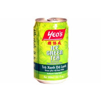 Yeo's ICE GREEN TEA DRINK brewed with Jasmine - 12 x 300 ml / 10.1 fl.oz. - Product of Malaysia