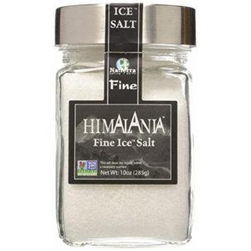 Natierra, Ice Salt Glass Jar Fine, 10 Ounce