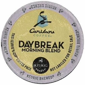 Caribou Daybreak Morning Blend Coffee Keurig K-Cups, 24 Count (Pack of 2)
