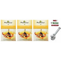 Mighty Leaf Tea ,Chamomile Citrus Blossom ,(with FREE Tea Bag Squeezer) (3 Pack)