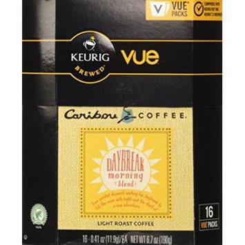 Caribou Coffee, Daybreak Morning Blend, Vue Pack for Keurig Vue Brewers, 16 Count (2 Pack)