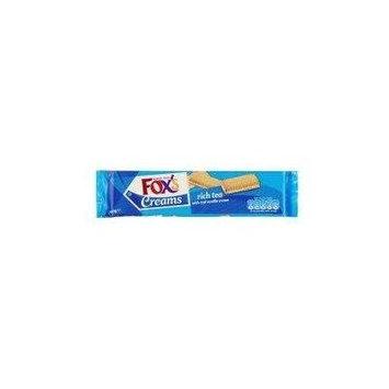 Foxs Rich Tea Finger Creams 200 Gram - Pack of 6