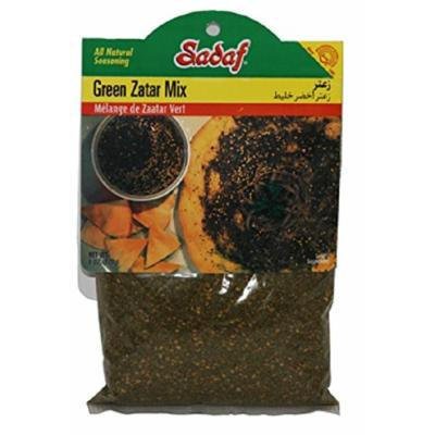 Sadaf Green Zatar Mix, 6 Oz (Pack of 2)