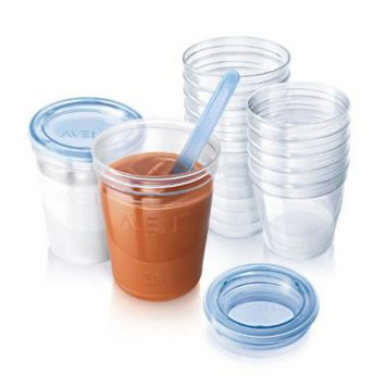 Philips AVENT SCF720/10 VIA Baby Food Storage Set Fast Shipping Original From UK