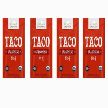 RIEGA FOODS , Gluten Free Seasoning-Taco Organic .9 Oz[4 PACK]