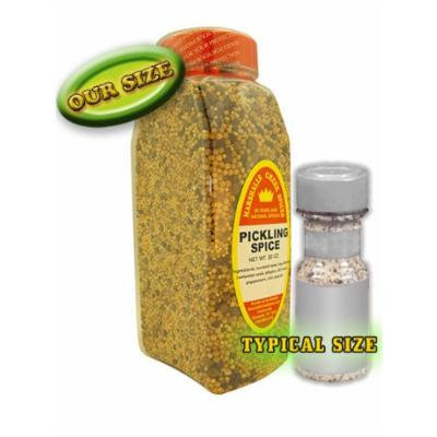 Marshalls Creek Spices Seasoning, Pickling Spice, XL Size, 16 Ounce