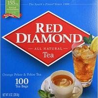 Red Diamond Gourmet Tea 100ct Single Serving Bags