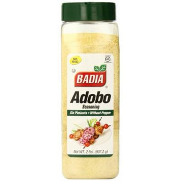 Badia Adobo without Pepper, 2 Pound (Pack of 6)