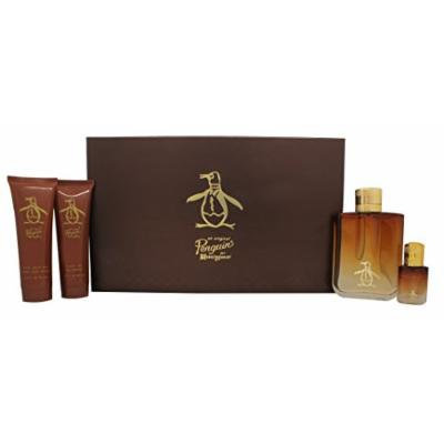Original Penguin Coffret: Eau De Toilette Spray 100ml/3.4oz + Eau De Toilette Spray 7.5ml/0.25oz + After Shave Balm 90ml/3.0oz + Shower Gel by Original Penguin