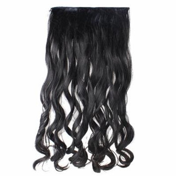 AGPtek 2013 24 inch Lady Sexy Stylish Long Curl Wavy Clip-on Hair Extension Wigs