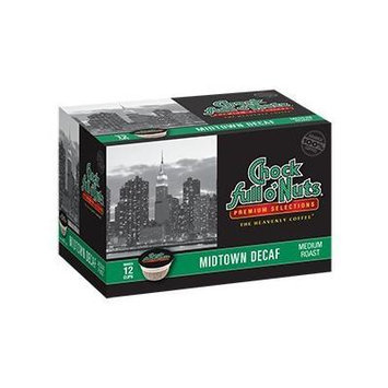 Chock Full o'Nuts Midtown Decaf Single-Serve Cups, 48 Count