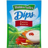 Hidden Valley Dips: Fiesta Ranch (Pack of 4) 1.1 oz Packets