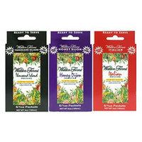 3 Boxes (18 Packets): Walden Farms Salad Dressing 1 Oz Packets (Thousand Island-Honey Dijon-Italian)