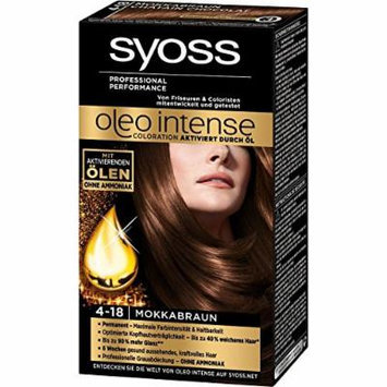 Syoss Oleo Intense Permanent Intensive Oil Color (4-18 Mokka Brown)