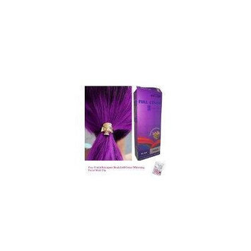 Special Sets : Premium Permanent Hair Color Cream Dye Goth Cosplay Emo Punk 0/44 Violet
