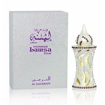 Lamsa Silver - Alcohol Free Arabic Perfume Oil Fragrance for Men and Women (Unisex)