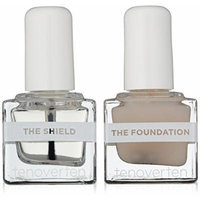 Tenoverten Nail Care System: The Foundation Base & Shield Top Coat