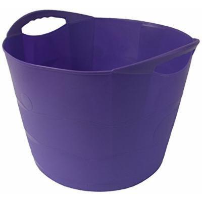 TuffTote Multi-Use Bucket, Violet, 7 gal