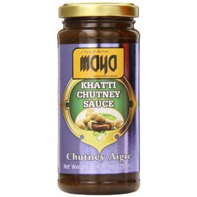 Maya Khatti Chutney Sauce, 8.4 Ounce (Pack of 12)