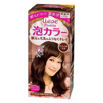 KAO Prettia Bubble Hair Color, Natural Moca, 0.5 Pound