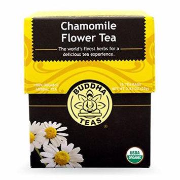 Chamomile Flower Tea - Organic Herbs - 18 Bleach Free Tea Bags
