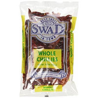 Swad Whole Red Dried Chillies 3.5oz., 100 Grams/ Indian Groceries