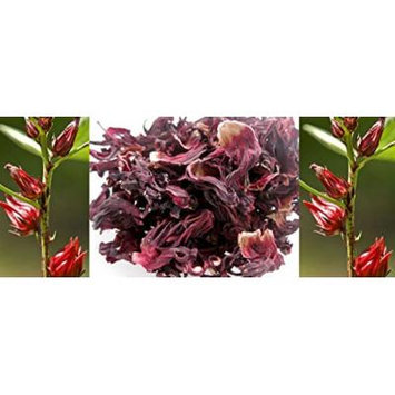 Dried Hibiscus Flowers Flor De Jamaica 8 Oz. Make Delicious Hibiscus Tea