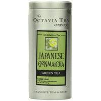 Octavia Tea Japanese Genmaicha (Green Tea), 2.38 - Ounce Tin