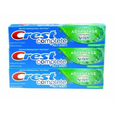 Crest Complete Multi-Benefit With Extra Advantage Whitening Plus Scope Toothpaste