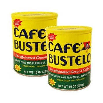 Bustelo Decaffeinated Coffee 2 10 oz vacuum packed cans