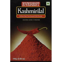 Everest Kashmiri Lal Ground Spice Used in Dishes for Its Hot Taste and Reddish Color (Box, 100 Gms)