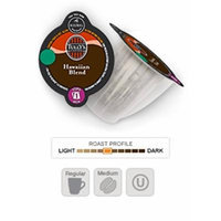 Keurig 2.0 Tully's Hawaiian Blend Coffee , Medium Roast , K-Carafe Packs (24)