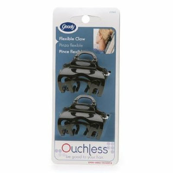 Goody Ouchless Flex Headrest Approved Comfort-Flex Claw Clips 1 pair