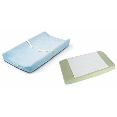 Summer Infant Ultra Plush Change Pad Cover with Waterproof Pad, Blue